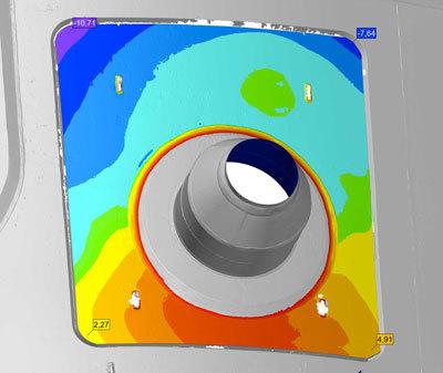 Pressure Vessel Door Aligned Virtually